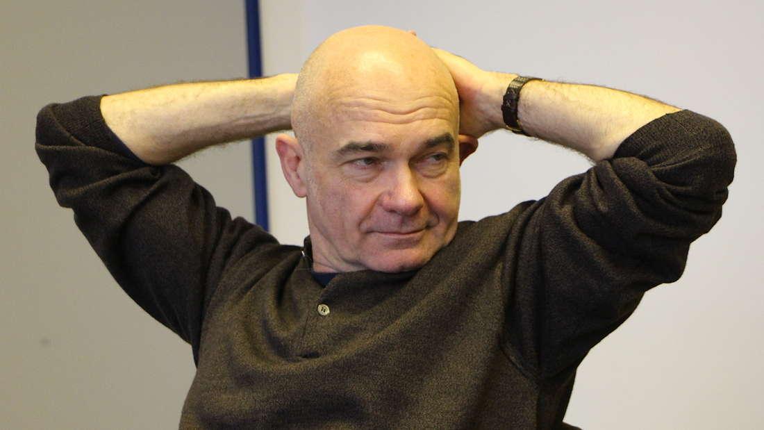 """Ganz entspannt: """"Tatort""""-Kriminaltechniker Peter Espeloer (57) alias Peter Becker."""