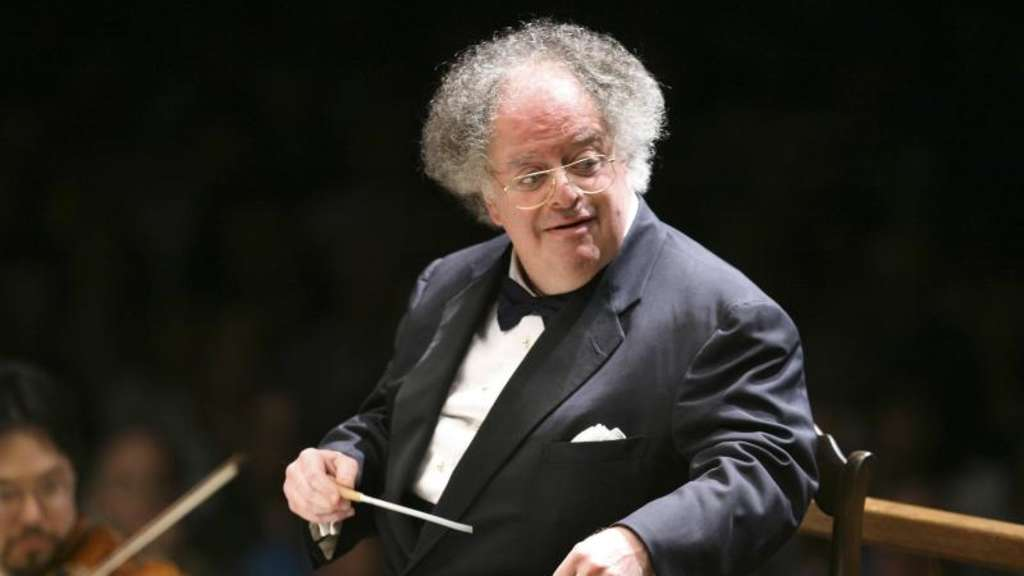 James Levine am Pult. Foto: Michael Dwyer