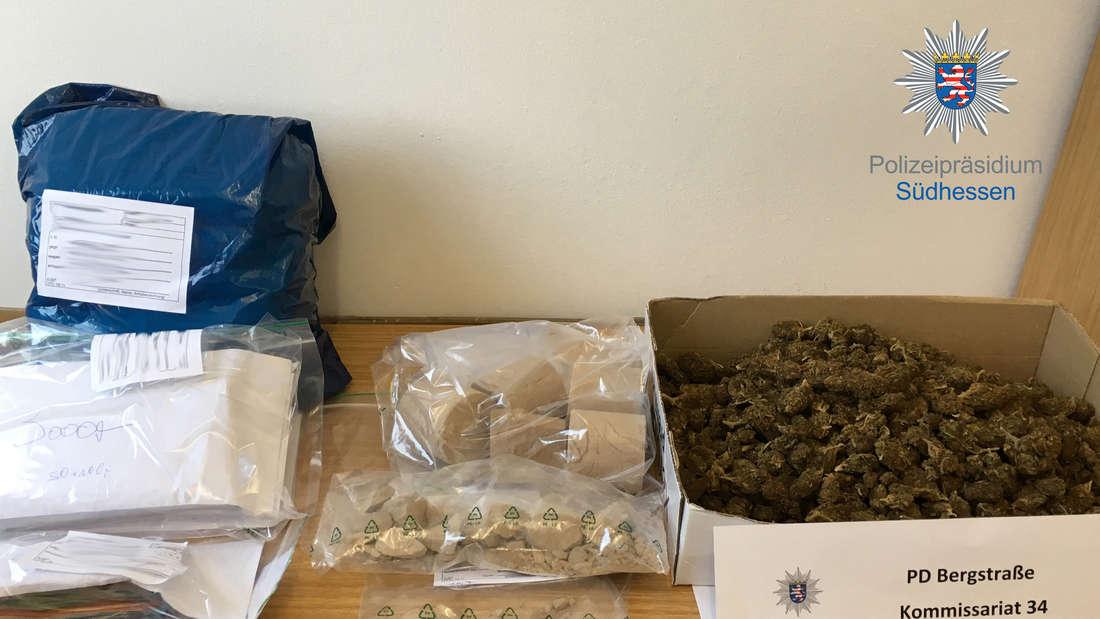 Ermittler stellen Kilo Drogen, Schmuck, Bargeld sicher: Dealer in Haft