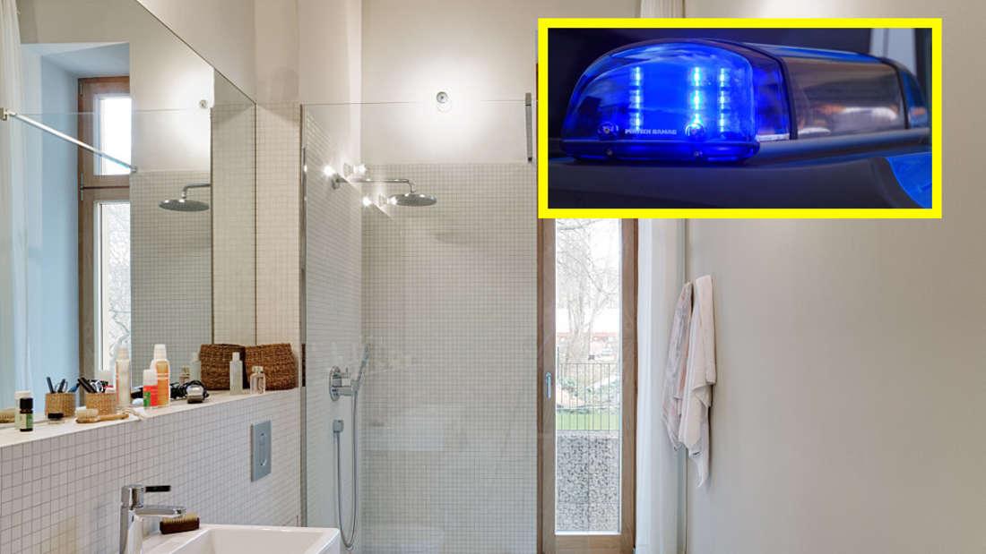 """""""Hilfe, ich bin im Badezimmer eingesperrt!"""" - Ein kurioser Notruf bei der Polizei in Ludwigshafen. (Symbolfoto)"""