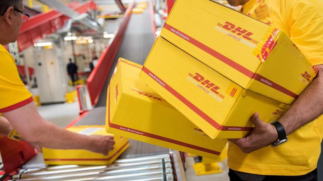 Die DHL ist momentan der Marktführer, was Paketdienste angeht.