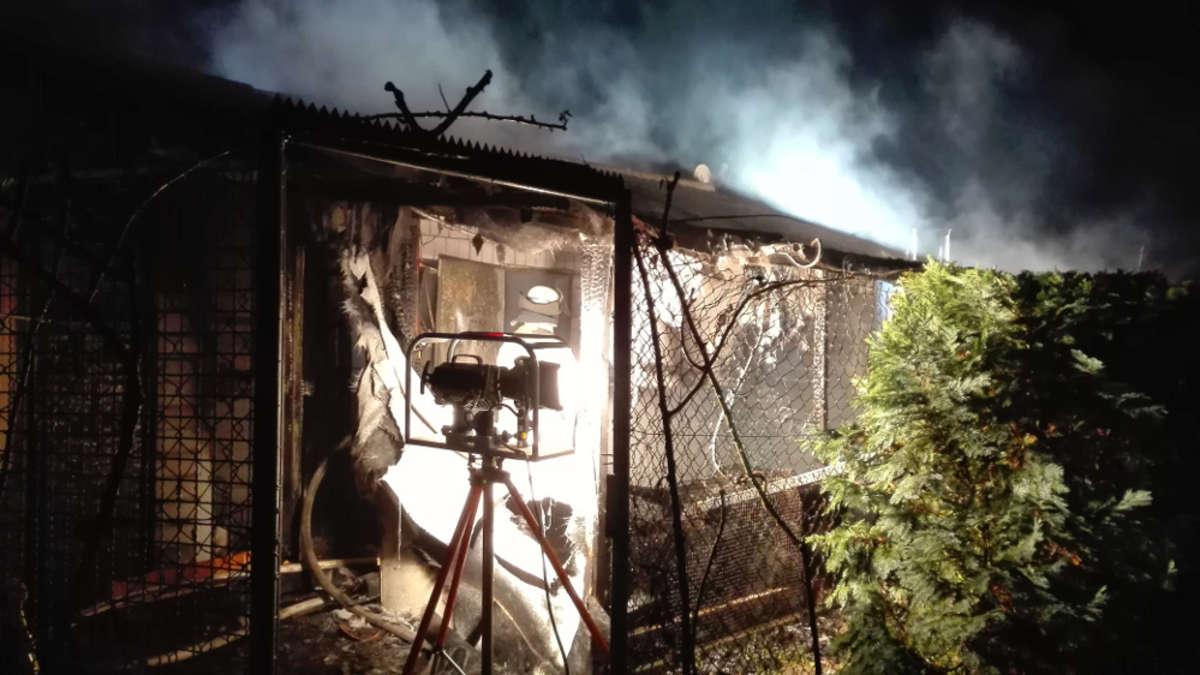 mannheim k fertal zwei verletzte m nner und mehrere tote tauben bei explosion in gartenhaus. Black Bedroom Furniture Sets. Home Design Ideas