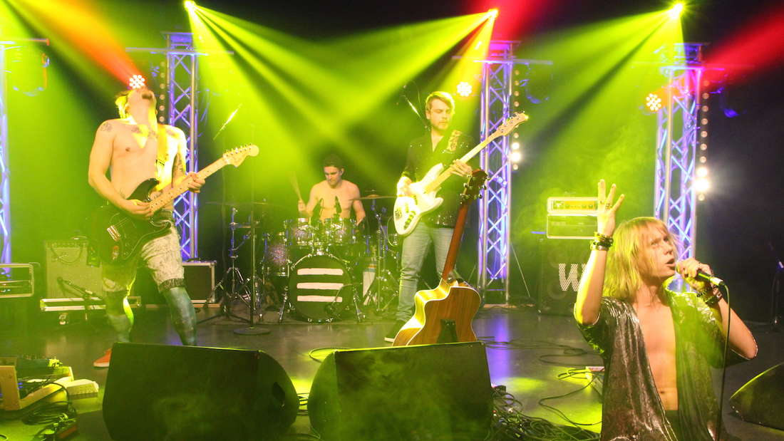 Sechs Nachwuchsbands der Popakademie Mannheim beim Wettbewerb Bandsupport.