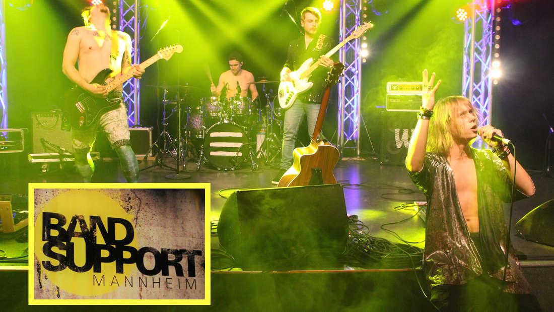 Sechs Nachwuchsbands der Popakademie Mannheim beim Wettbewerb Bandsupport: Hier Joey Voodoo.