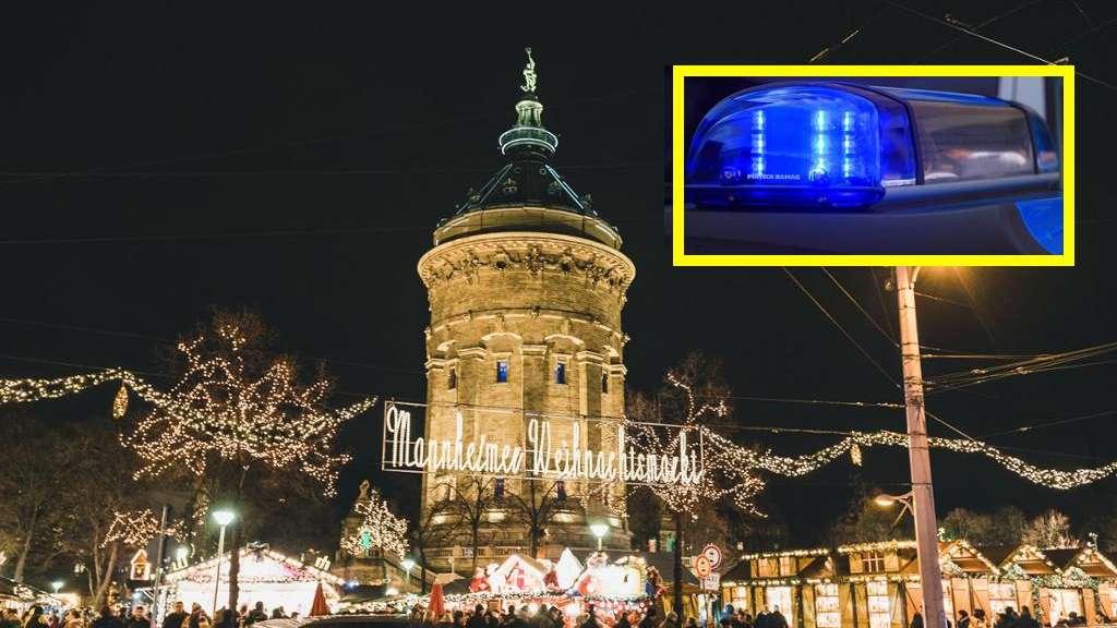 Mannheim-Innenstadt: Am Weihnachtsmarkt: Aggro-Teenies prügeln auf ...