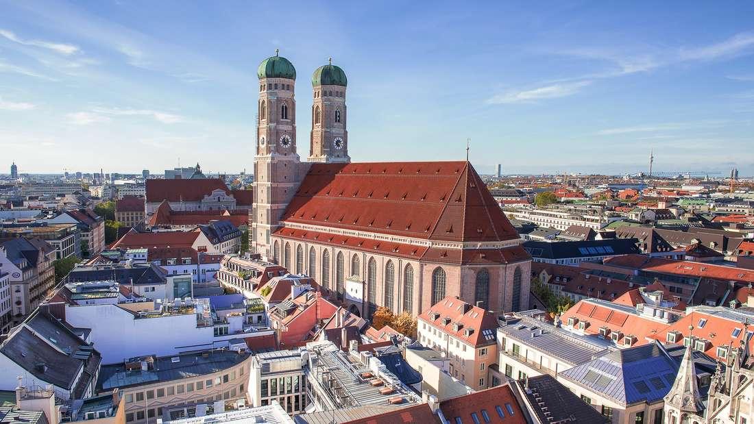 In der Nähe der Frauenkirche befindet sich eine der teuersten Wohnungen Münchens.