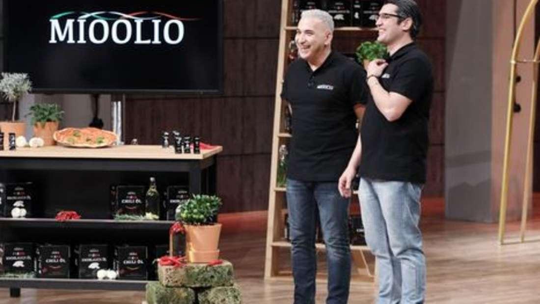 MIOOLIO - Knoblauch- und Chiliöl für Pizzen. Gründer: Taner Gecer und Luigi Stella. Deal: 30.000 Euro gegen 15 Prozent Firmenanteile. Investor: Ralf Dümmel.