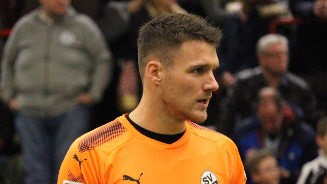 Marcel Schuhen gewinnt mit dem SV Sandhausen den SparkassenCup 2018.