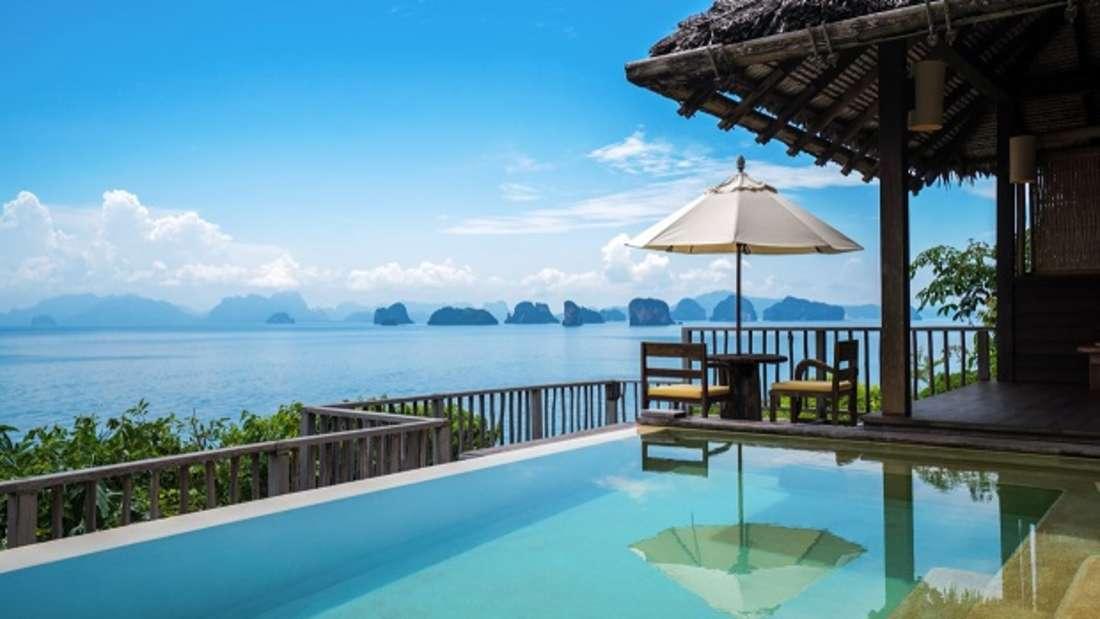 Six Senses Yao Noi zwischen Phuket und dem thailändischen Festland.