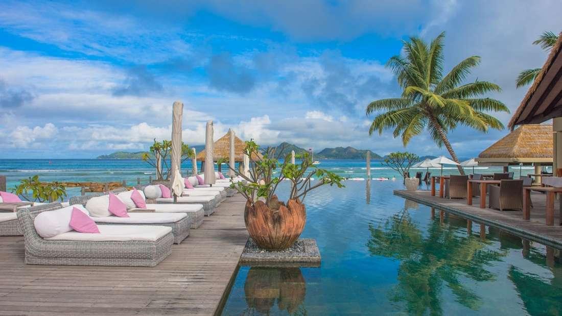l'Orangeraie auf der Seychellen-Insel La Digue.