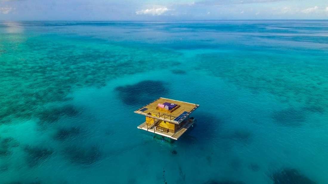 Manta Resort auf der Insel Pemba.