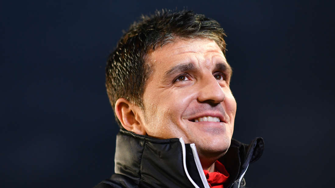 SVS-Cheftrainer Kenan Kocak verlängert seinen Vertrag am Hardtwald bis 2020 (Archiv)