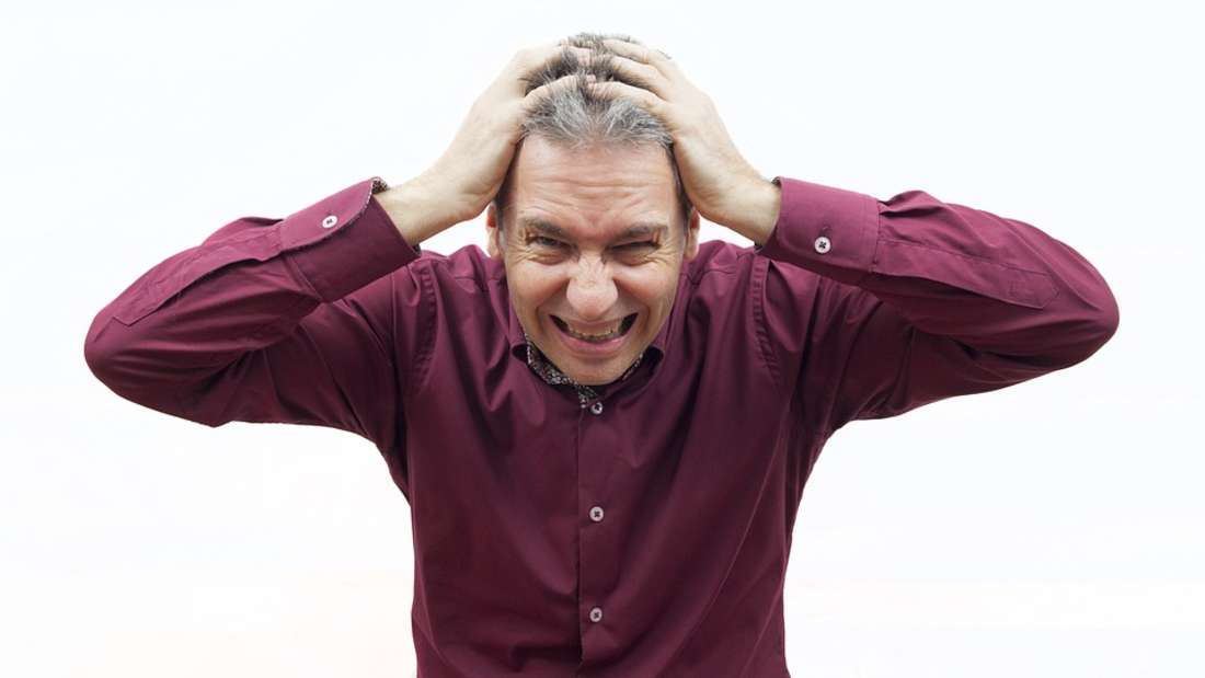 Stress mit den Nachbarn istmanchmal echtzum Haareraufen.