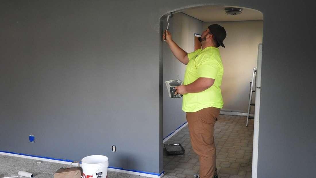 Wohnung renovieren: Es muss nicht immer Weiß sein, wenn Sie ausziehen.