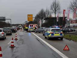 Schwetzingen Unfall Auf B36 Auto Uberschlagt Sich Bei Mobel