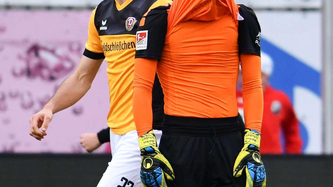 Am 20. Spieltag gewinnt der SV Sandhausen im BWT-Stadion mit 1:0 gegen Dynamo Dresden. (C) Uwe Anspach/dpa - Bildfunk