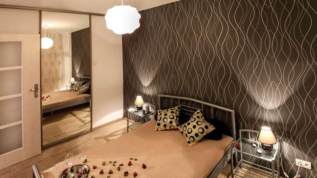 Tapeten sind ein einfaches Mittel, um Zimmer aufzuhübschen.