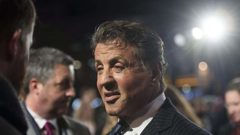"Sylvester Stallone (m) 2016 bei der Premiere von ""Creed"" in London. Foto: Will Oliver"