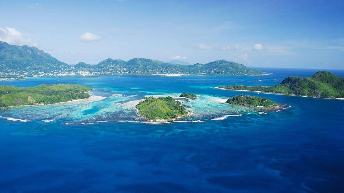 Meeresschutzgebiet auf Mahé, Seychellen