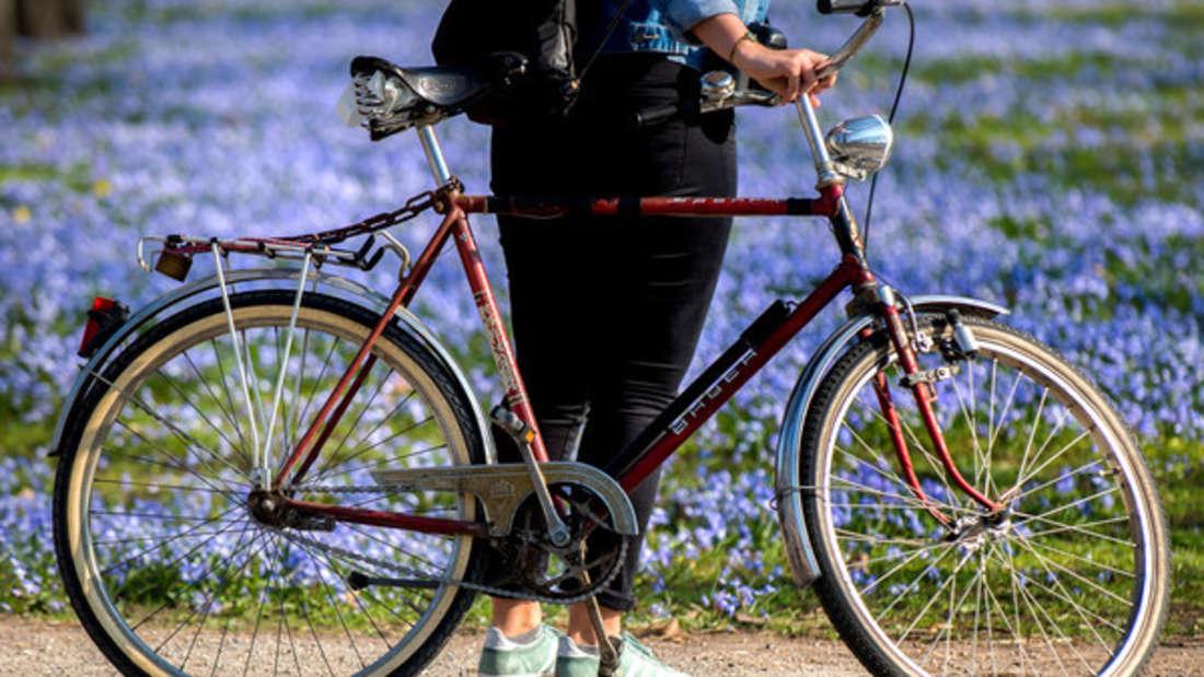 Winter und Wetter sorgen für Flugrost am Fahrrad.
