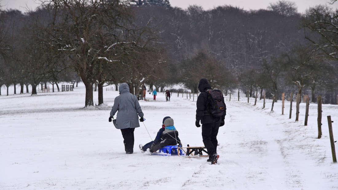 Am 18. März wacht Heidelberg verschneit auf!