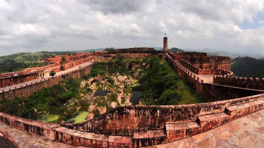 Jaigarh Fort, Jaipur, Rajasthan, Indien.