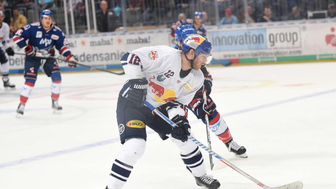 DEL - Halbfinale, Spiel 4: Adler Mannheim gegen EHC Red Bull München.