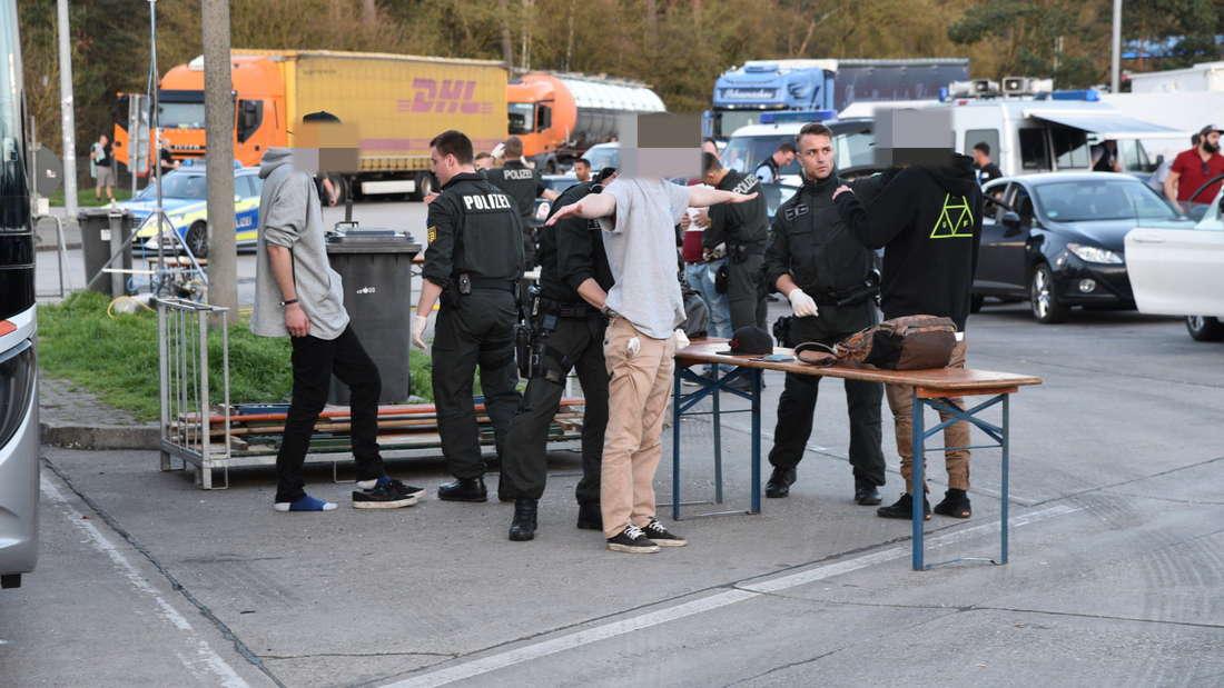 Die Polizei führt Großkontrollen am'Time Warp'-Wochenende durch.