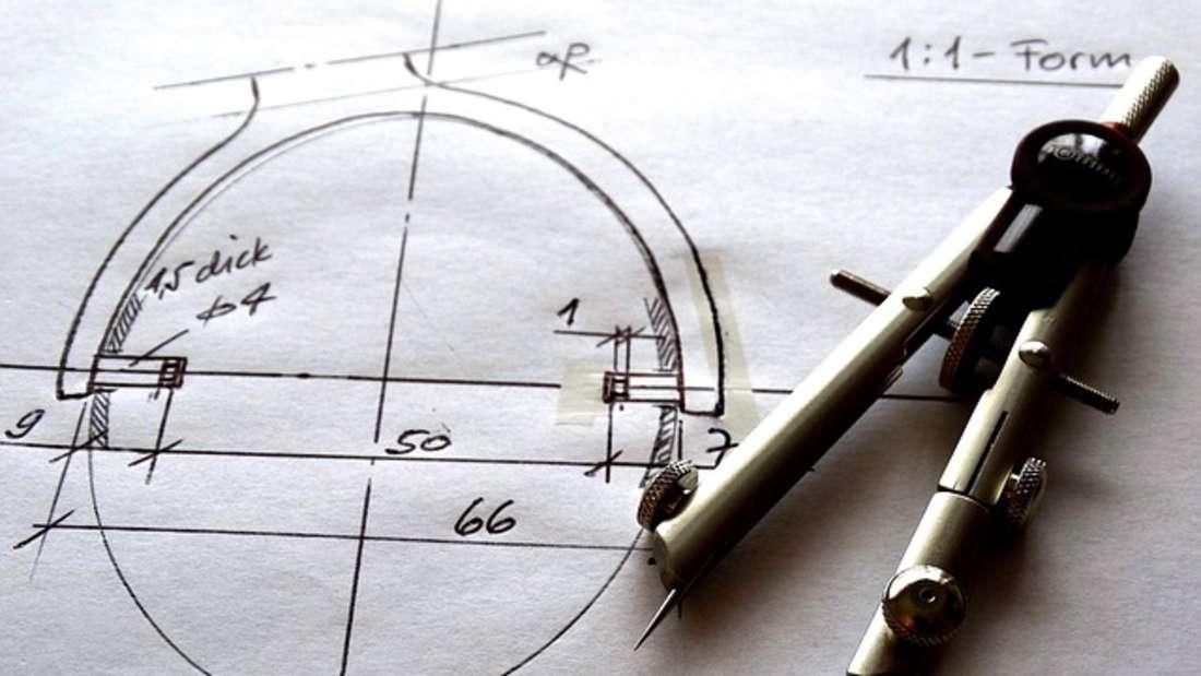Platz 6: Technische Zeichner (auch technische Produktdesigner oder technische Systemplaner) verdienen in der Lehrzeit 700 bis 1.000 Euro brutto.