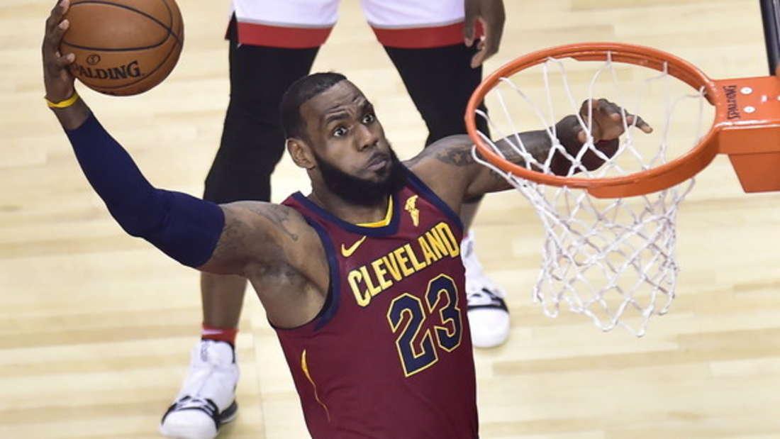 Platz 10: Sport-Megastar gilt als DER Top-Verdiener unter den Basketballprofis. Geschätztes Einkommen 2017: 86 Millionen Dollar.