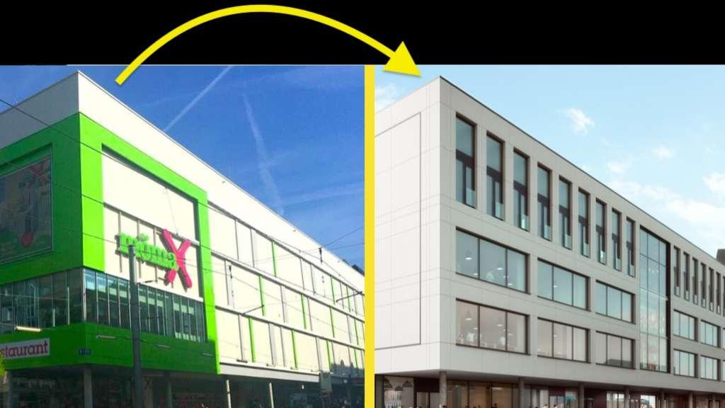 Mannheim Möbelhaus mannheim innenstadt ehemaliges möbelhaus mömax in breiten straße