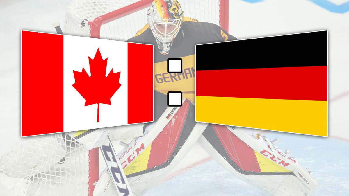 deutschland kanada eishockey