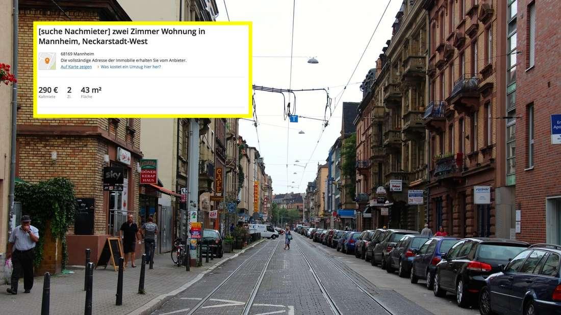 Das ist Mannheims ehrlichste Wohnungsanzeige.