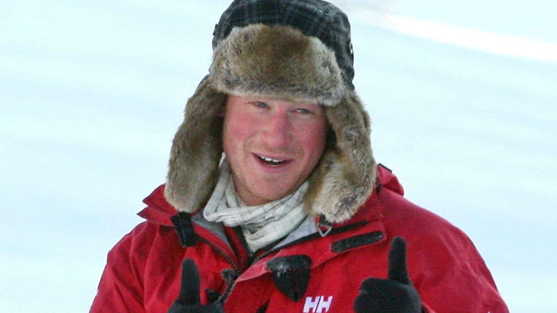 Für einen guten Zweck wanderte Prinz Harry 2011 vier Tage lang gemeinsam mit britischen Kriegsversehrten zum Nordpol.