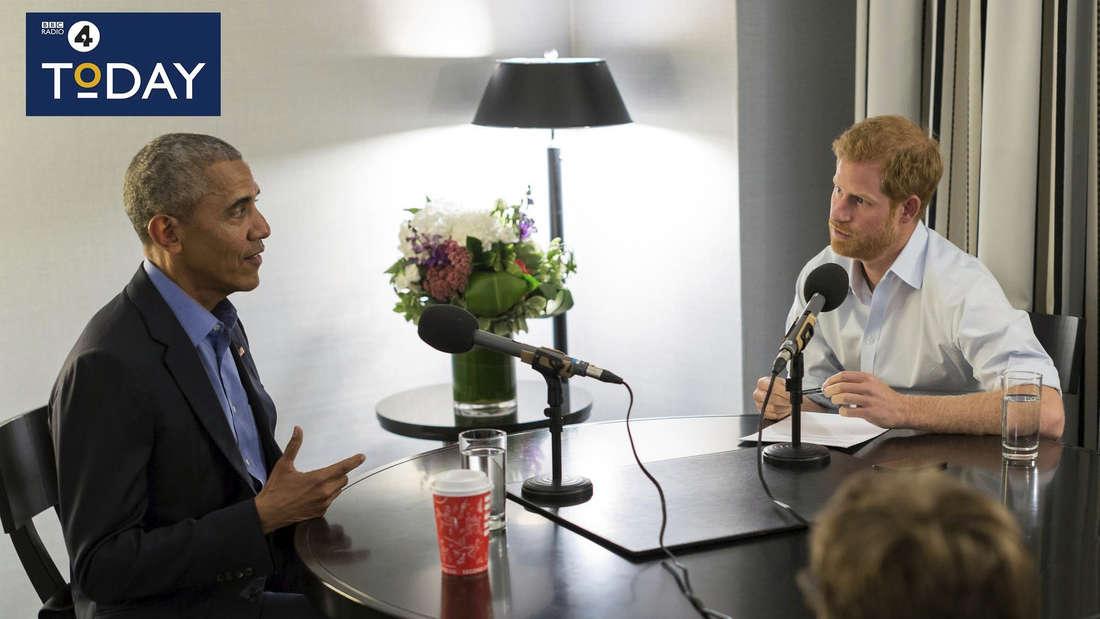 Für die BBC interviewte Prinz Harry den ehemaligen US-Präsident Barack Obama Ende 2017. Ist das ein Hinweis auf seine berufliche Karriere?