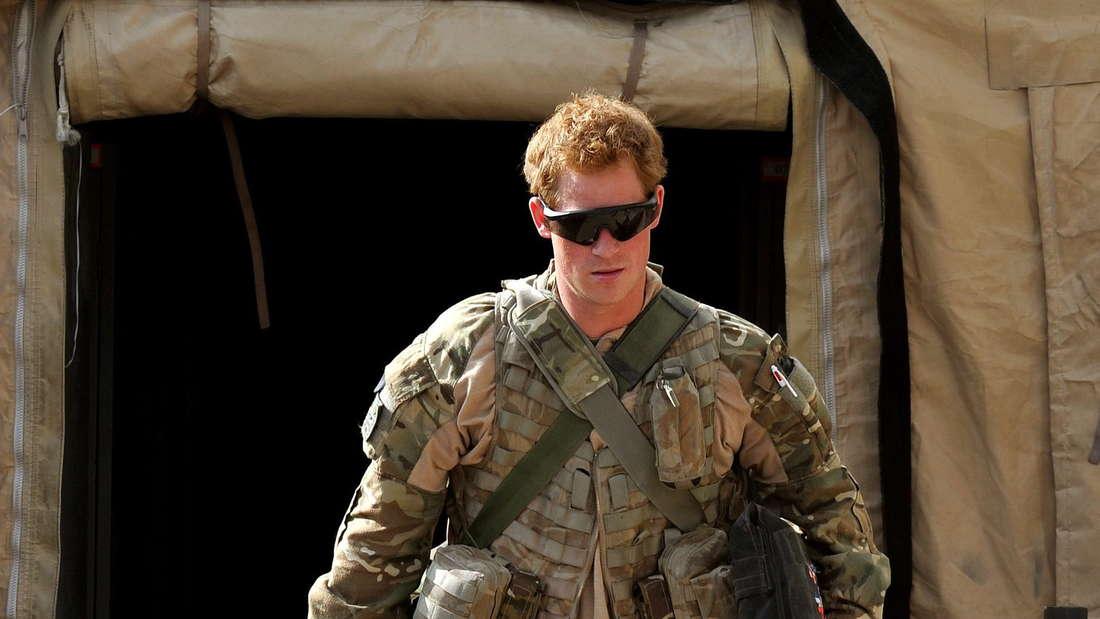 In den zehn Jahren als Soldat flog Prinz Harry als Co-Pilot sogar Einsätze in Afghanistan.