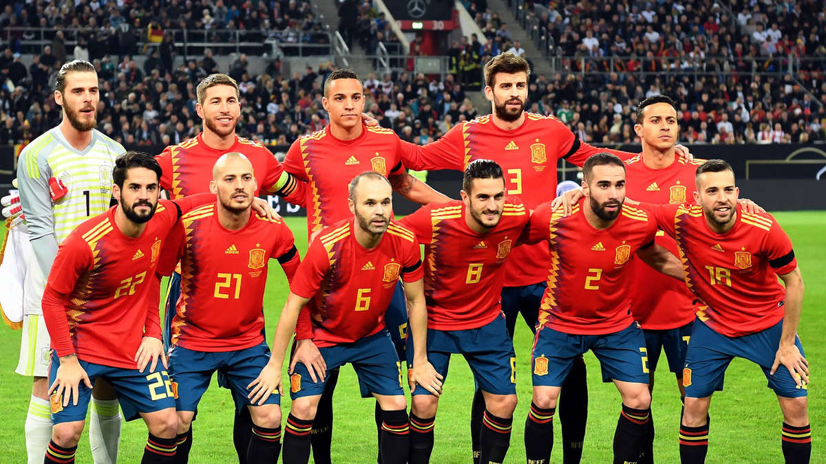 Gruppe Spanien Wm 2021