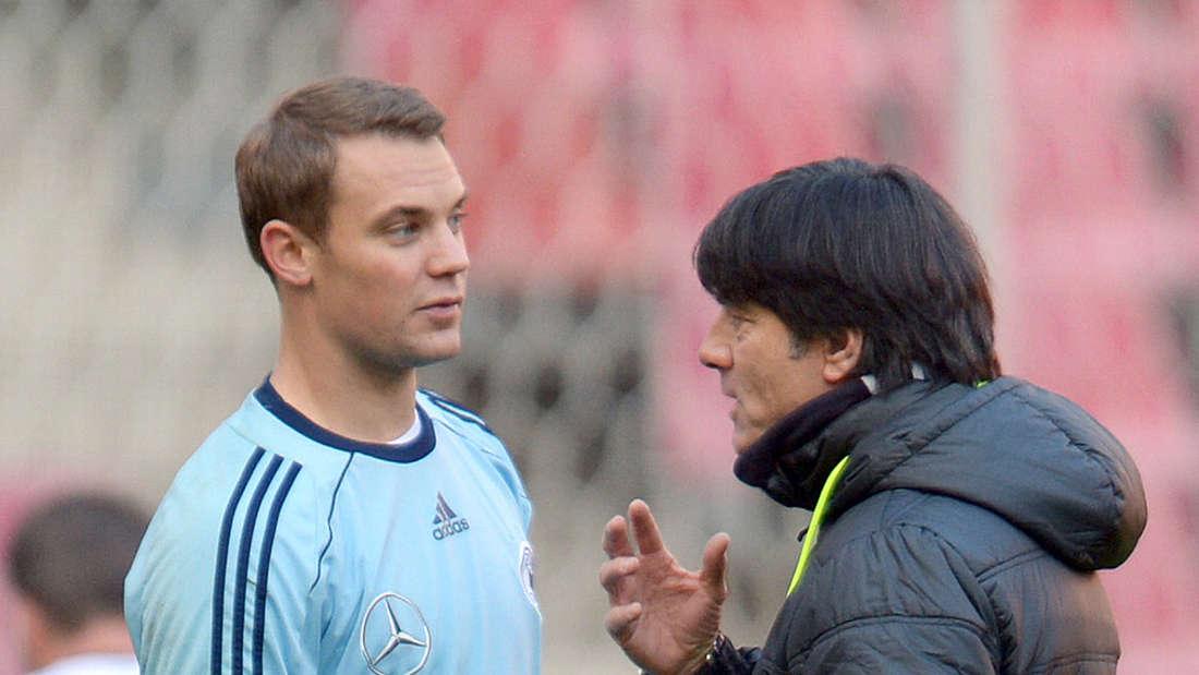 Joachim Löw und Manuel Neuer