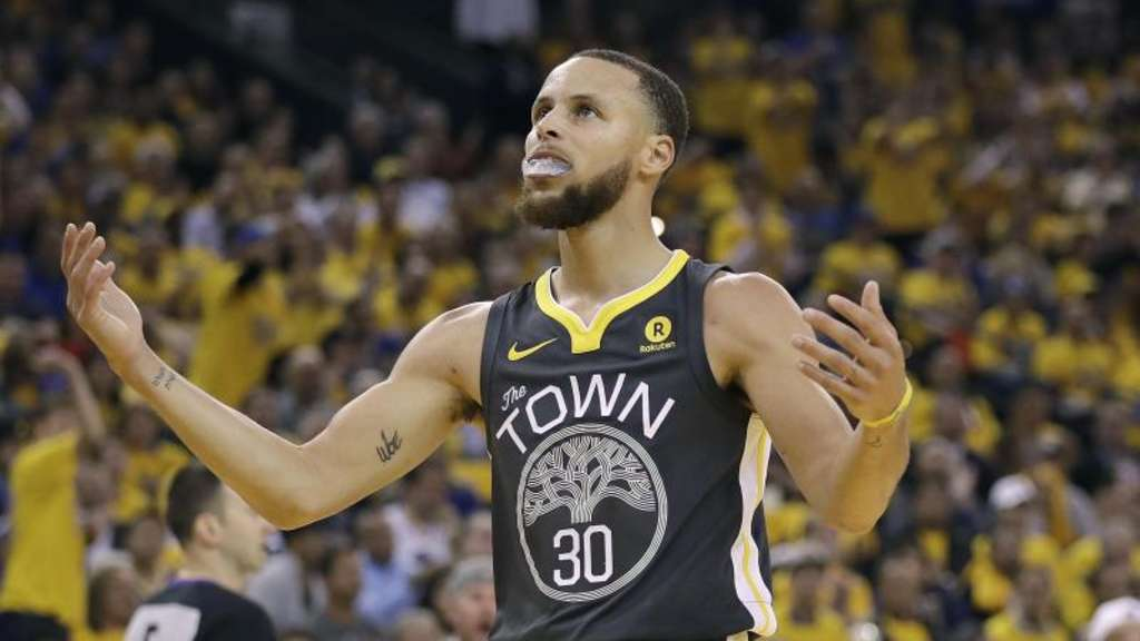 Konnte das Playoff-Aus mit den Golden State Warriors abwenden: Superstar Stephen Curry.
