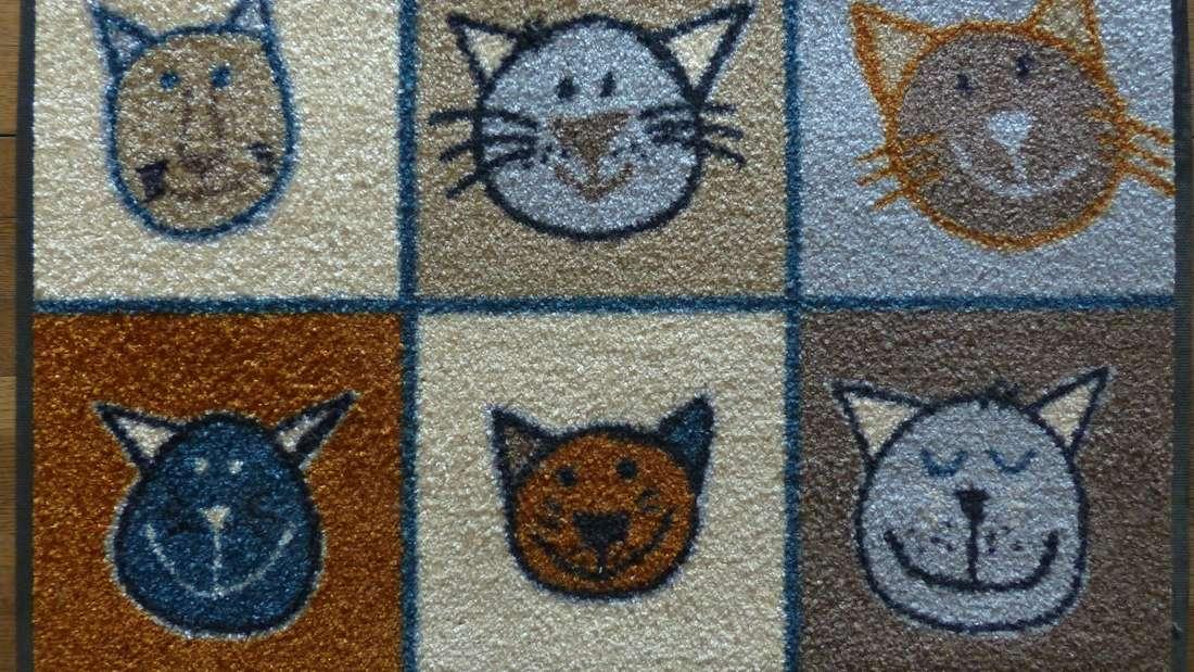 Fußmatten werden ganz schön in Mitleidenschaft gezogen - und müssen deshalb regelmäßig gereinigt werden.