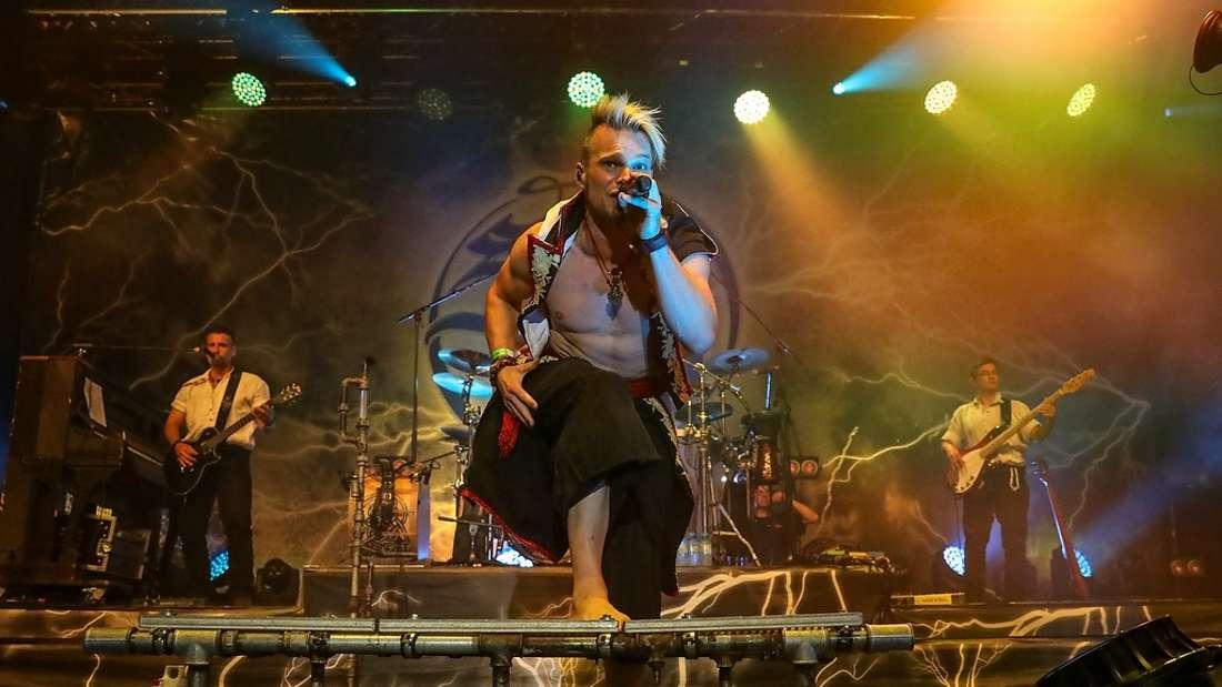 Saltatio Mortis beim Zeltfestival Rhein-Neckar