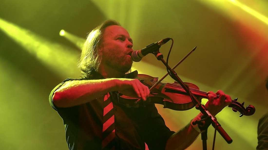 Fiddlers Green beim Zeltfestival Rhein-Neckar