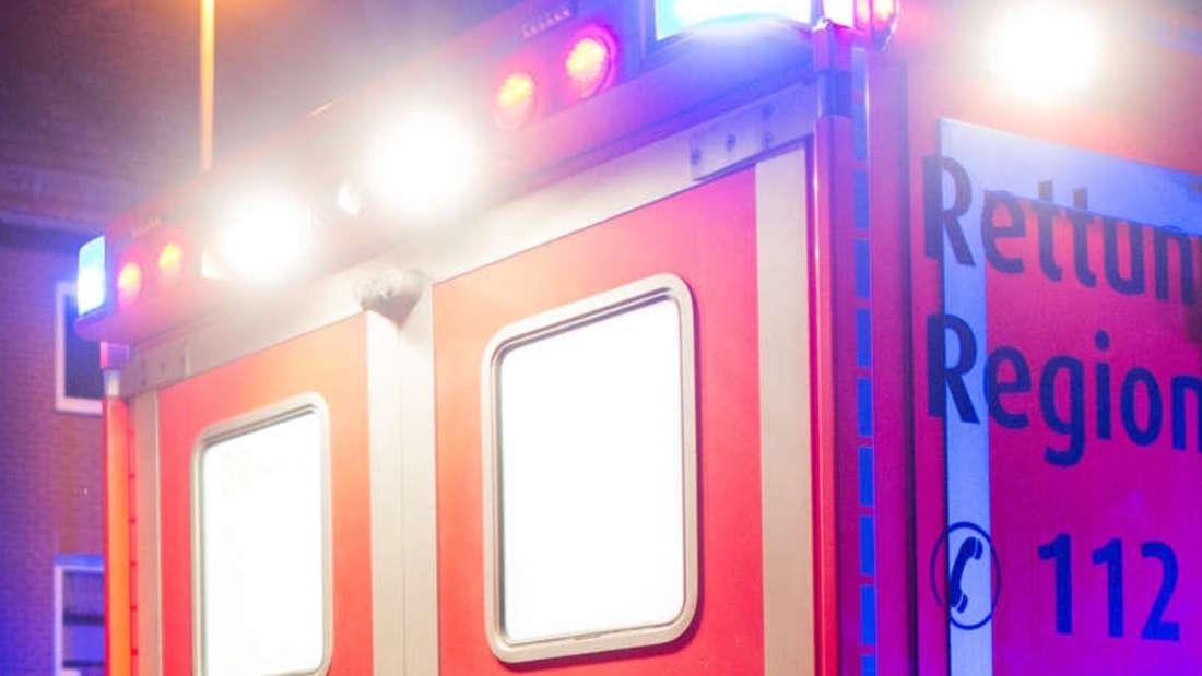 Ein 64-Jähriger wird bei einem Unfall in der Sudetenstraße schwer verletzt (Symbolfoto)