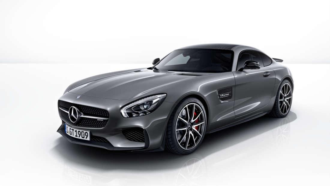 … einen Mercedes AMG GT S Edition 1.