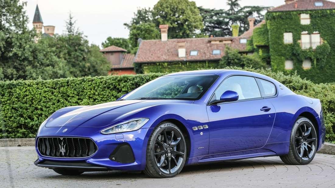 … Umtiti fährt nämlich auch einen Maserati Gran Turismo wie Pogba.