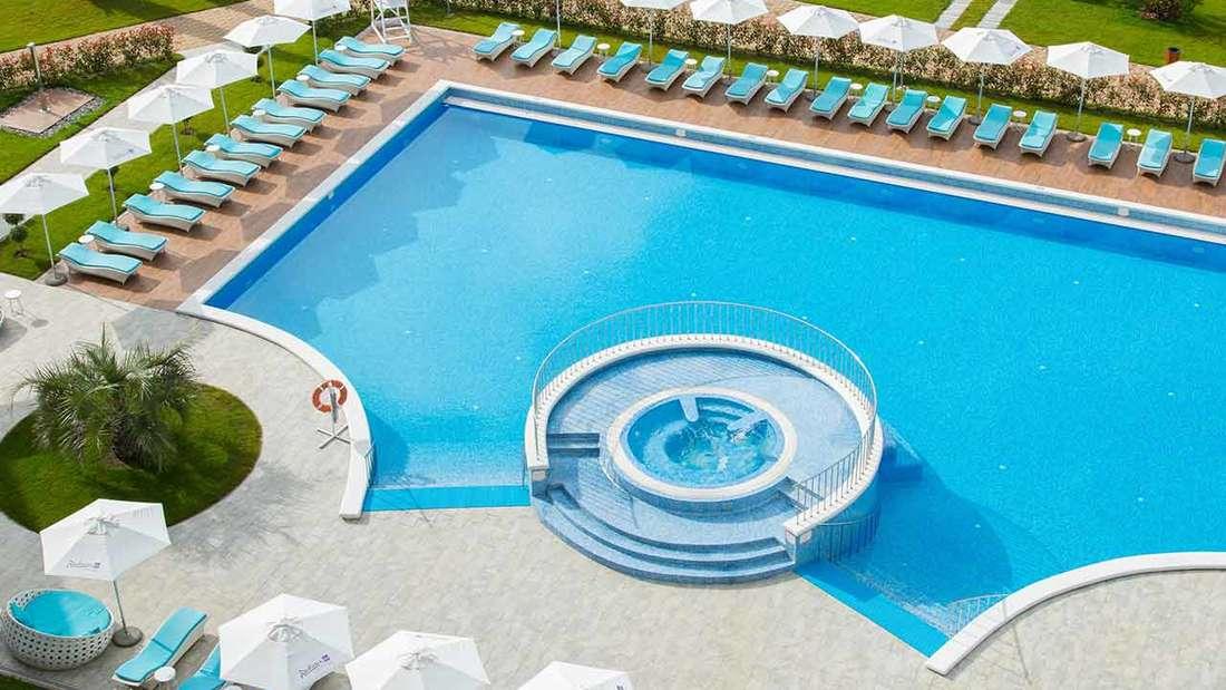 WM 2018 Radisson Blu Paradise Resort Sotschi