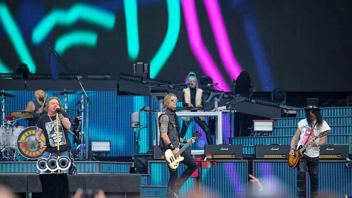 Extrem Mannheim: Guns N' Roses live auf Maimarktgelände: Rock-Konzert der BX51