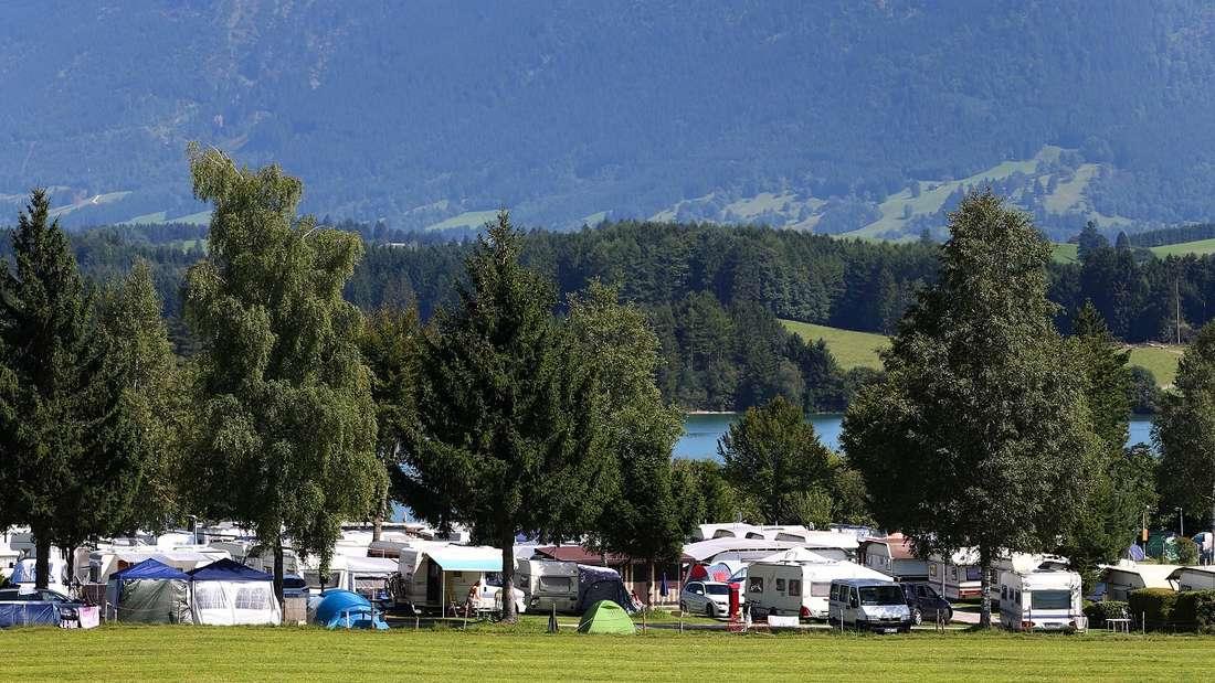 Camping in Deutschland - gewusst wie und wo.