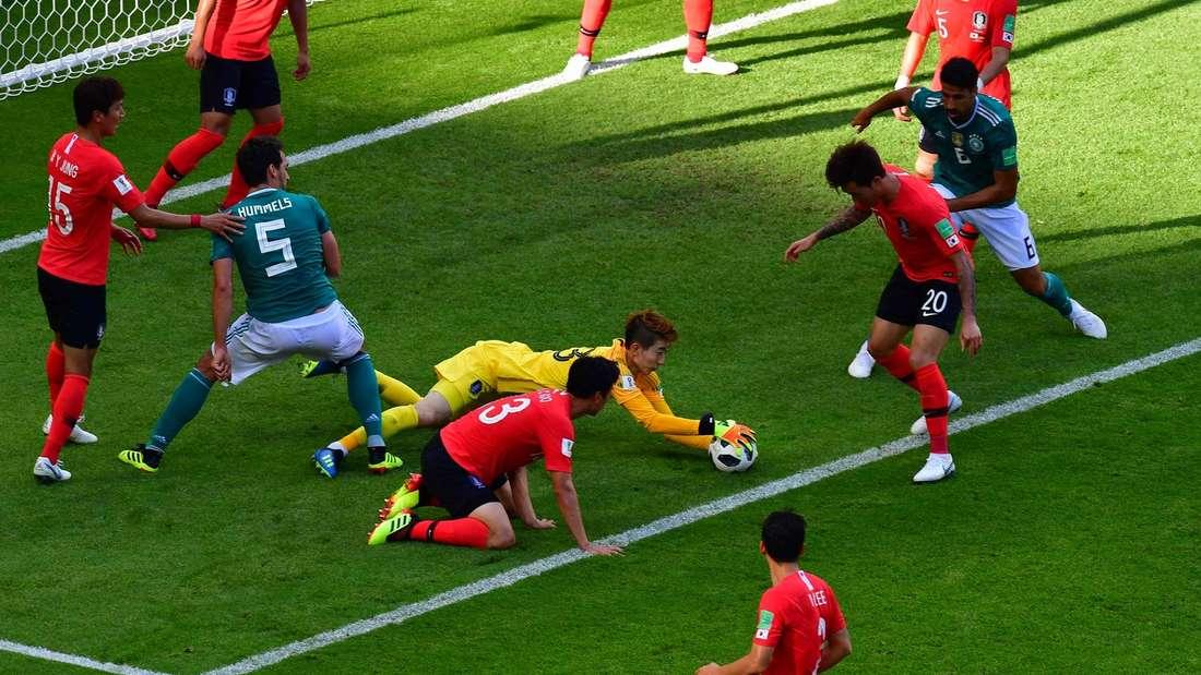 Fußball-WM 2018, Südkorea gegen Deutschland, Bilder und Noten