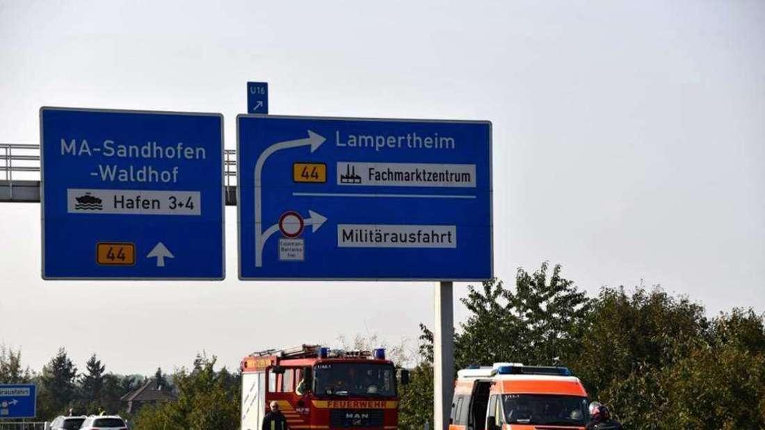 Anschlussstelle Mannheim-Sandhofen ab Freitag (13. Juli) gesperrt (Archivfoto)